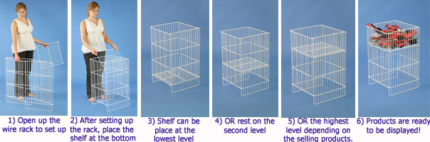 How to Assemble the Wire Basket