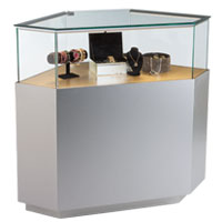 Residential & Commercial Corner Display Cases