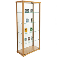 Curio Cabinets Made with Real Wood