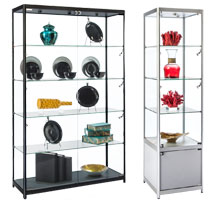 Floor Display Cases & Towers