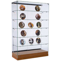 All-Glass Frameless Display Cases