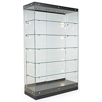 Lighted Display Cases - LED & Halogen