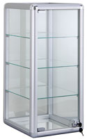 Metal Framed Display Cases