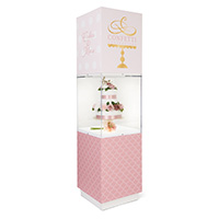 Display Pedestal Cases and Stands