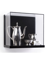 Wall Mount Acrylic Shadow Box Display for Gallery Style Exhibits