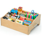 Wooden Kids Art Supply Storage