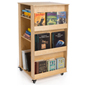 Children's Book Stand with Baltic Birch Construction