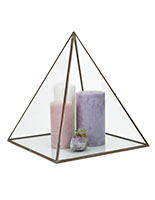 16 inch tall large pyramid display box