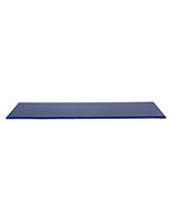 "Blue model display case base for 30"" DCS series with 0.5"" thickness"