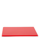 "12"" square red acrylic display base 0.5"" thick"