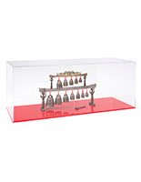 Large model display case made of durable acrylic