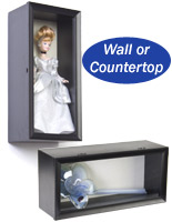 Doll Display Cases