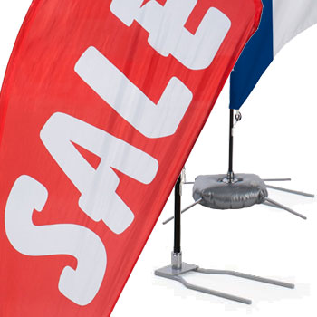 blade advertising flags