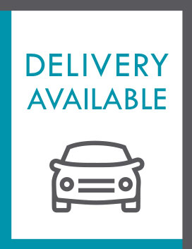 Downloadable delivery available sign