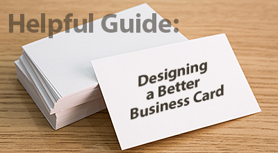 How to Guide for Designing Business Cards