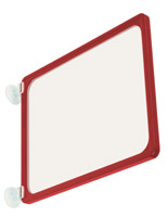 red window sign holder