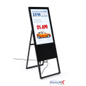 32-inch collapsible digital signage ad display with LED light source