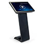 Horizontal touch screen display floor stand with sharp 1080p resolution