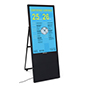 Portable LCD digital signage player with 56.5 inch power cord