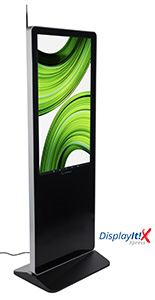 "43"" digital advertising display system supports multimedia content"