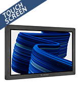 22 inch wall mount touch screen with interactive display