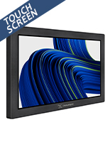 Touch screen digital signage with interactive 10 point PCAP display
