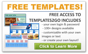 Display Monitors for Advertising Include Free Access to Ad Templates