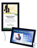Digital photoframe features an LCD screen