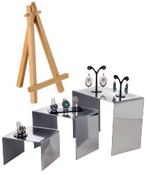 Display Risers & Countertop Easels