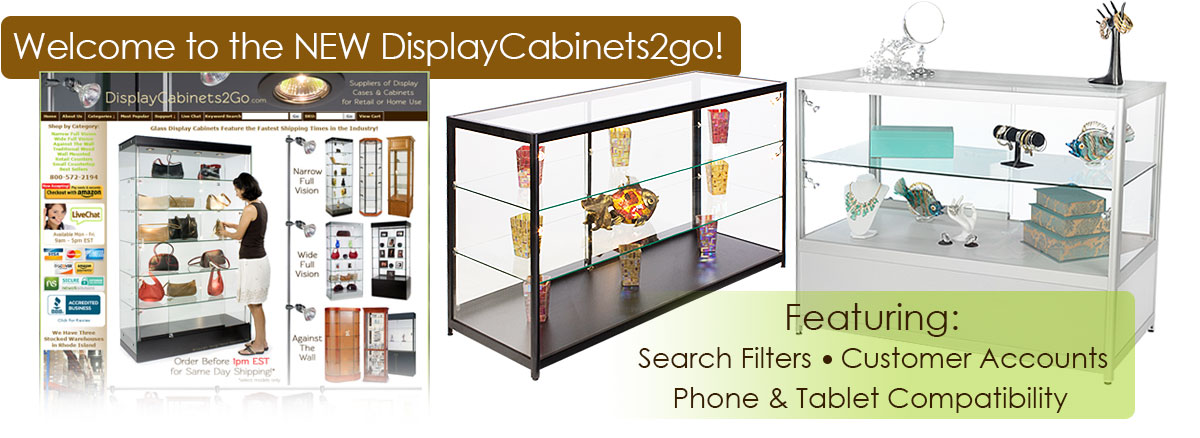 best-selling display cases