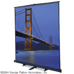 retractable projection screen