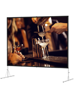 Folding Projector Screen