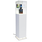 Tall Digital Pedestal Case Display with Acrylic Topper