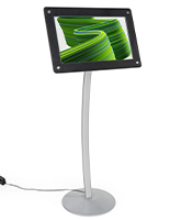 Digital poster pedestal stand with Android operating system