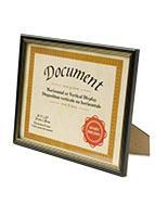 certificate frame - Document Frames