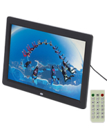 "12"" Digital Picture Frame for Image Files"