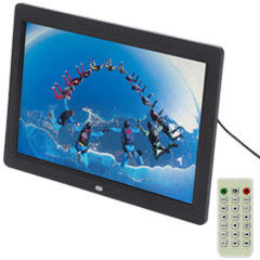 "12"" Digital Picture Frame for Video Files"