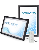 Black Plastic High Resolution LCD Digital Frame