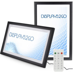 High Resolution LCD Digital Frame with Remote