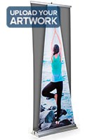 89 inch tall replacement roll up dimensional pyramid banner