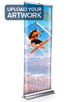 Replacement backer panel for 3d banner stands with custom fitted substrate