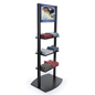Electronic poster customized digital merchandising shelves