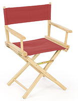 wood director chair