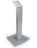 Moveable Vesa Floor Display Stand with Wheels for High Traffic Areas