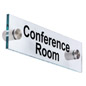 """Conference Room"" Sign with 1"" Standoffs"