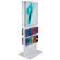 "24"" Wide Publication and Poster Combo Stand"