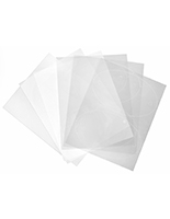 "5"" x 8"" oval blank replacement films for DSIGN58OV signs"