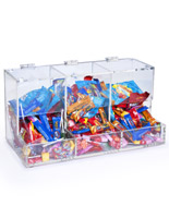 plastic candy bin
