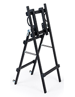 Folding TV easel for LCD screen sizes 32 inches to 55 inches