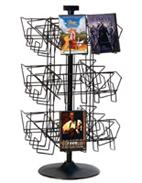 CD & DVD Displays | Countertop & Floor - Plastic, Wire & Cardboard